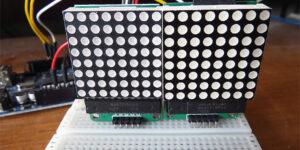 téma 23 LED Matrix pokročileji