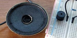 Téma 14 - reproduktor - buzzer